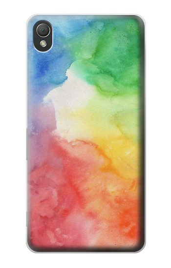 Printed Colorful Watercolor Sony Xperia Z3 Case