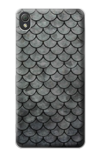 Printed Silver Fish Scale Sony Xperia Z3 Case