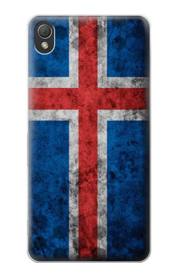 Printed Iceland Football Flag Sony Xperia Z3 Case