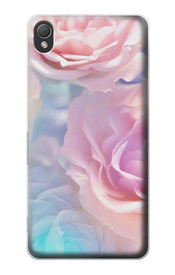 Printed Vintage Pastel Flowers Sony Xperia Z3 Case