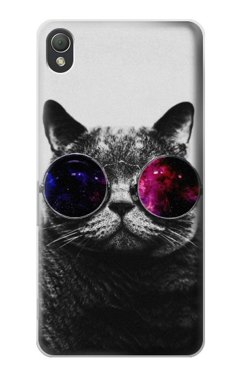 Printed Cool Cat Glasses Sony Xperia Z3 Case