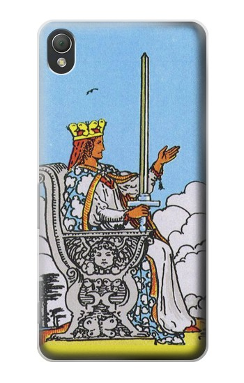 Printed Tarot Card Queen of Swords Sony Xperia Z3 Case