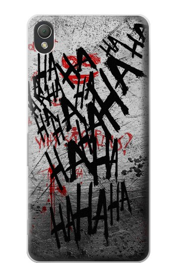 Printed Joker Hahaha Blood Splash Sony Xperia Z3 Case