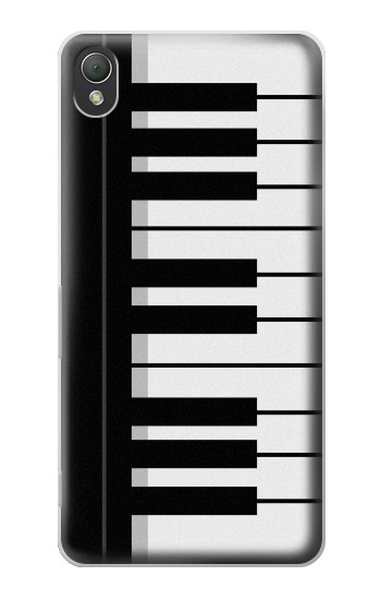 Printed Black and White Piano Keyboard Sony Xperia Z3 Case