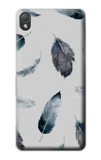 Printed Feather Paint Pattern Sony Xperia Z3 Case
