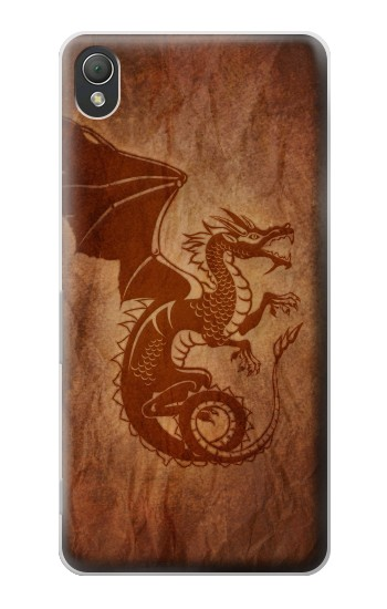 Printed Red Dragon Tattoo Sony Xperia Z3 Case