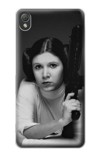 Printed Princess Leia Carrie Fisher Sony Xperia Z3 Case