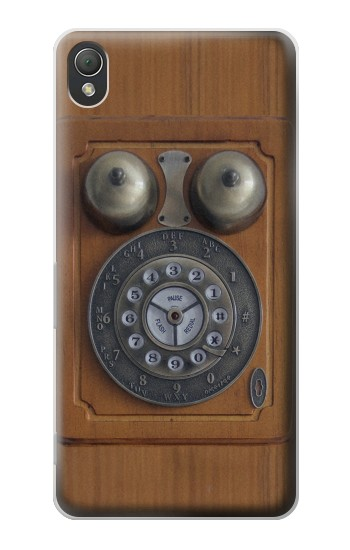 Printed Antique Wall Phone Sony Xperia Z3 Case