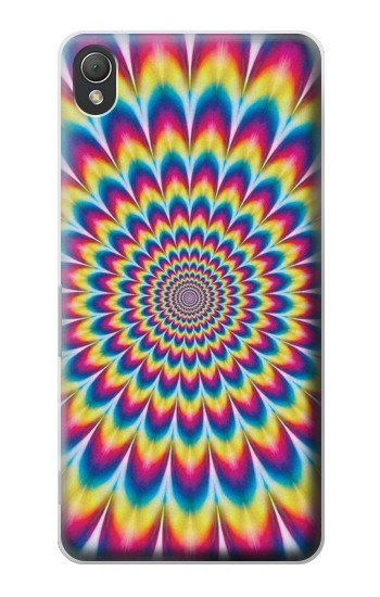 Printed Colorful Psychedelic Sony Xperia Z3 Case