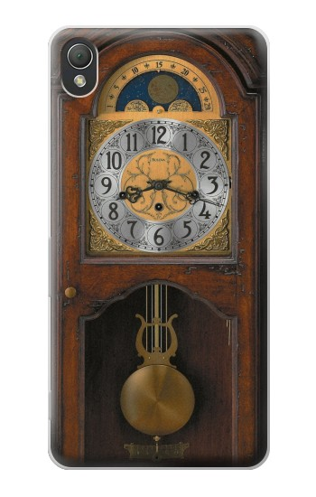 Printed Grandfather Clock Antique Wall Clock Sony Xperia Z3 Case