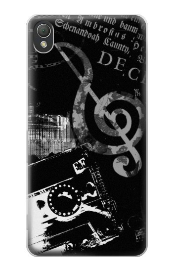 Printed Music Cassette Note Sony Xperia Z3 Case
