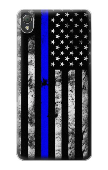 Printed Thin Blue Line USA Sony Xperia Z3 Case