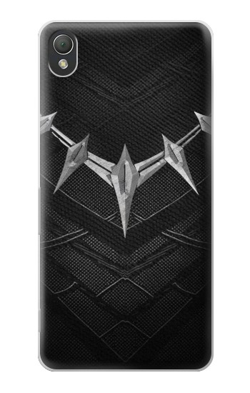 Printed Black Panther Inspired Costume Necklace Sony Xperia Z3 Case