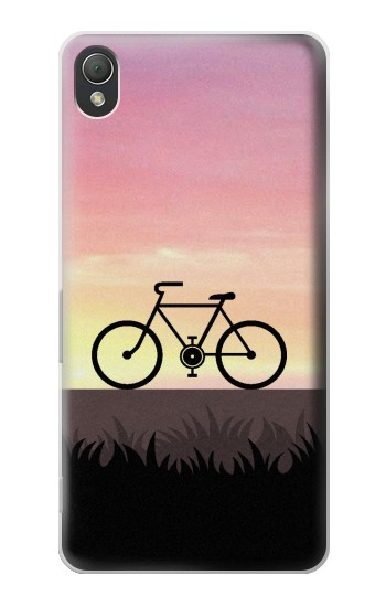 Printed Bicycle Sunset Sony Xperia Z3 Case