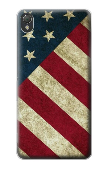 Printed US National Flag Sony Xperia Z3 Case