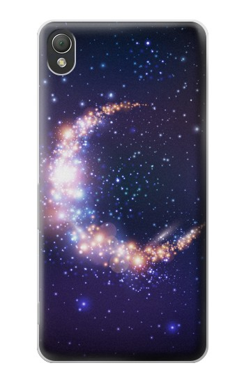 Printed Crescent Moon Galaxy Sony Xperia Z3 Case