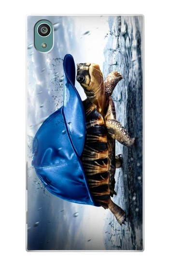 Printed Turtle in the Rain Sony Xperia Z5 Case