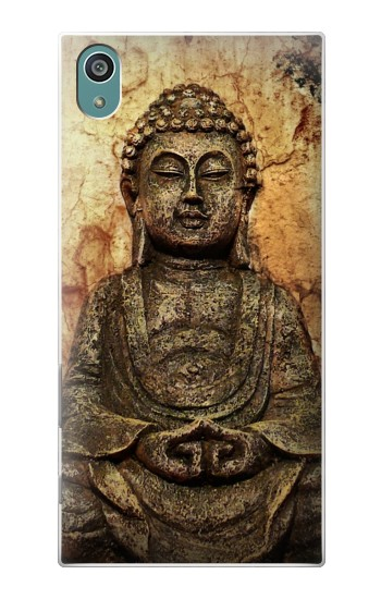 Printed Buddha Rock Carving Sony Xperia Z5 Case
