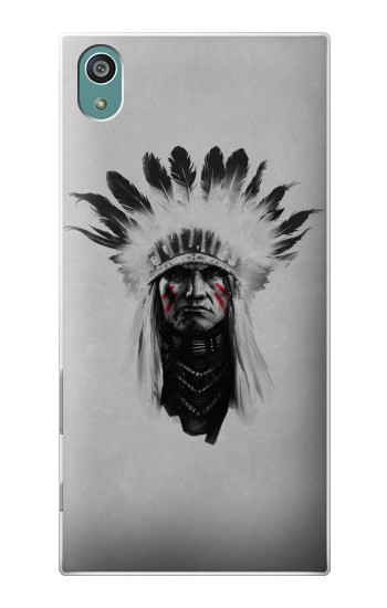 Printed Indian Chief Sony Xperia Z5 Case