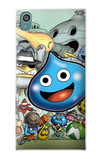 Printed Dragon Quest Slime Monster Sony Xperia Z5 Case