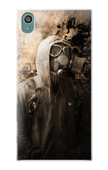 Printed Gas Mask Stalker Sony Xperia Z5 Case