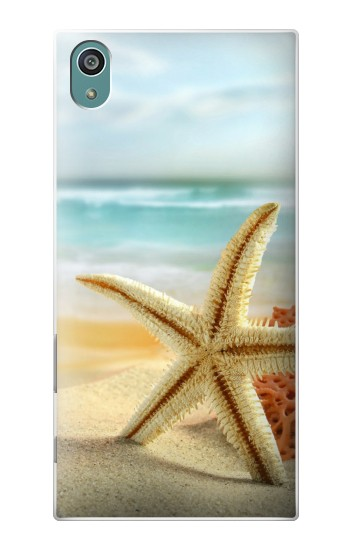 Printed Starfish on the Beach Sony Xperia Z5 Case