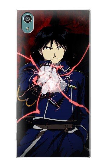 Printed Fullmetal Alchemist Roy Mustang Sony Xperia Z5 Case