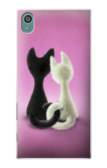 Printed Love Cat Sony Xperia Z5 Case