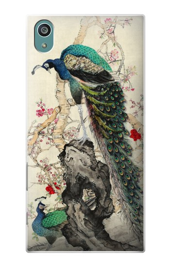 Printed Peacock Painting Sony Xperia Z5 Case