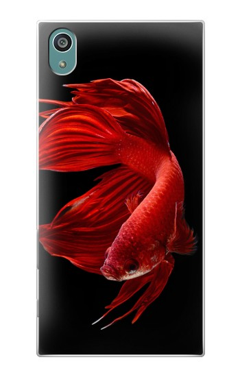 Printed Red Siamese Fighting Fish Sony Xperia Z5 Case