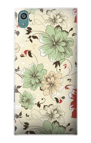 Printed Flower Floral Vintage Art Pattern Sony Xperia Z5 Case
