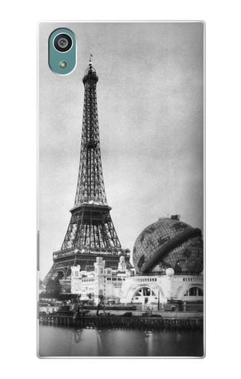 Printed Old Paris Eiffel Tower Sony Xperia Z5 Case