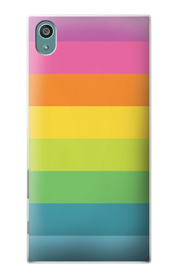 Printed Rainbow Pattern Sony Xperia Z5 Case