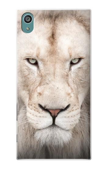 Printed White Lion Face Sony Xperia Z5 Case
