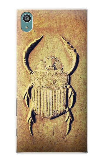 Printed Egyptian Scarab Beetle Graphic Printed Sony Xperia Z5 Case