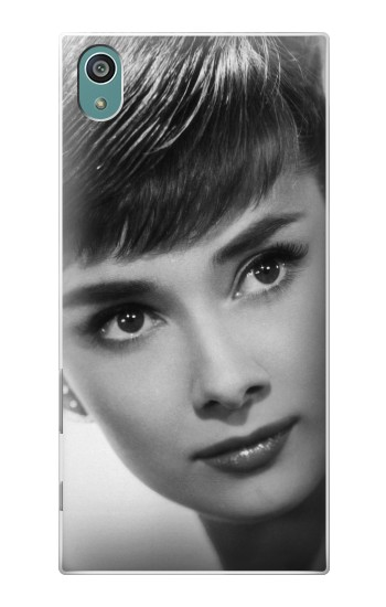 Printed Audrey Hepburn Short Hair Sony Xperia Z5 Case
