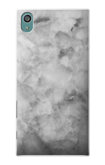 Printed Gray Marble Texture Sony Xperia Z5 Case