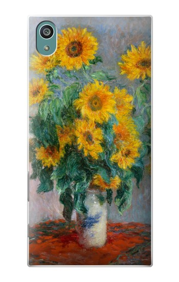 Printed Claude Monet Bouquet of Sunflowers Sony Xperia Z5 Case