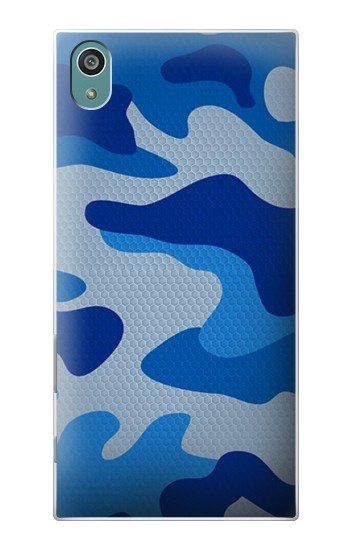 Printed Army Blue Camouflage Sony Xperia Z5 Case