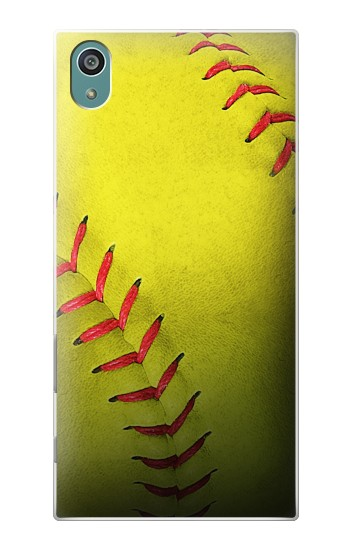 Printed Yellow Softball Ball Sony Xperia Z5 Case