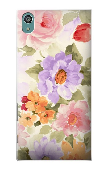 Printed Sweet Flower Painting Sony Xperia Z5 Case