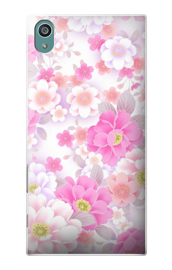 Printed Pink Sweet Flower Flora Sony Xperia Z5 Case