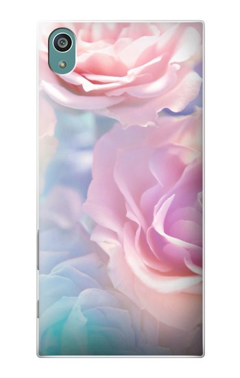 Printed Vintage Pastel Flowers Sony Xperia Z5 Case