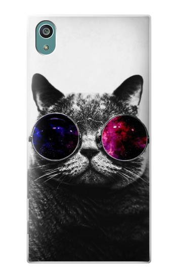 Printed Cool Cat Glasses Sony Xperia Z5 Case