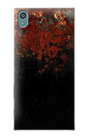 Printed Rusted Metal Texture Sony Xperia Z5 Case