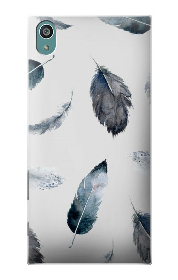 Printed Feather Paint Pattern Sony Xperia Z5 Case