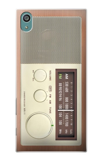 Printed FM AM Wooden Receiver Graphic Sony Xperia Z5 Case