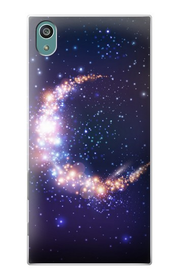 Printed Crescent Moon Galaxy Sony Xperia Z5 Case