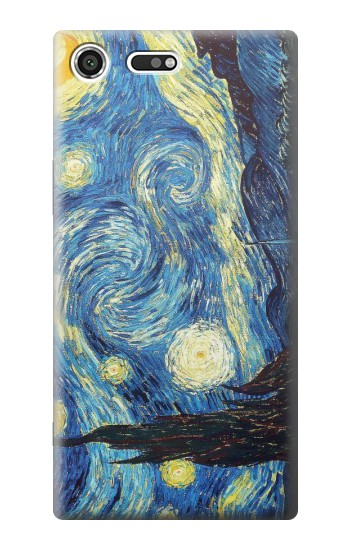 Printed Van Gogh Starry Nights Sony Xperia C3 Case