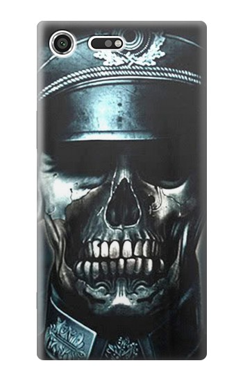 Printed Skull Soldier Zombie Sony Xperia C3 Case